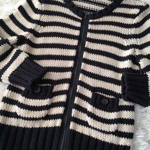 LOFT Thick Knit Cardigan Medium